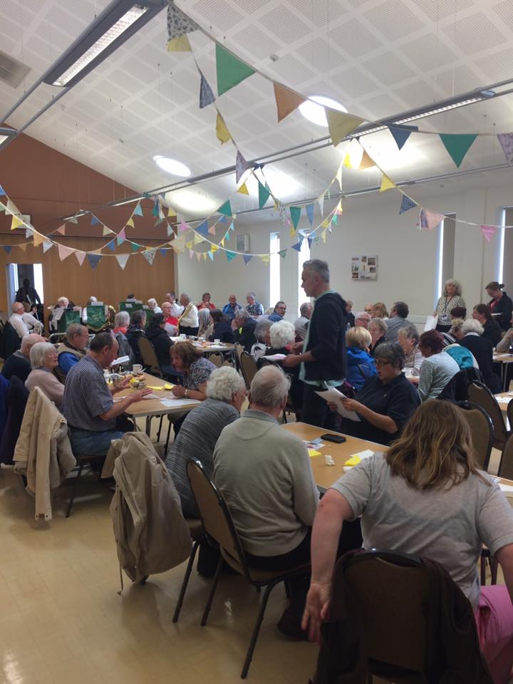 Fantastic turnout to our launch at the Abergele Community Party!