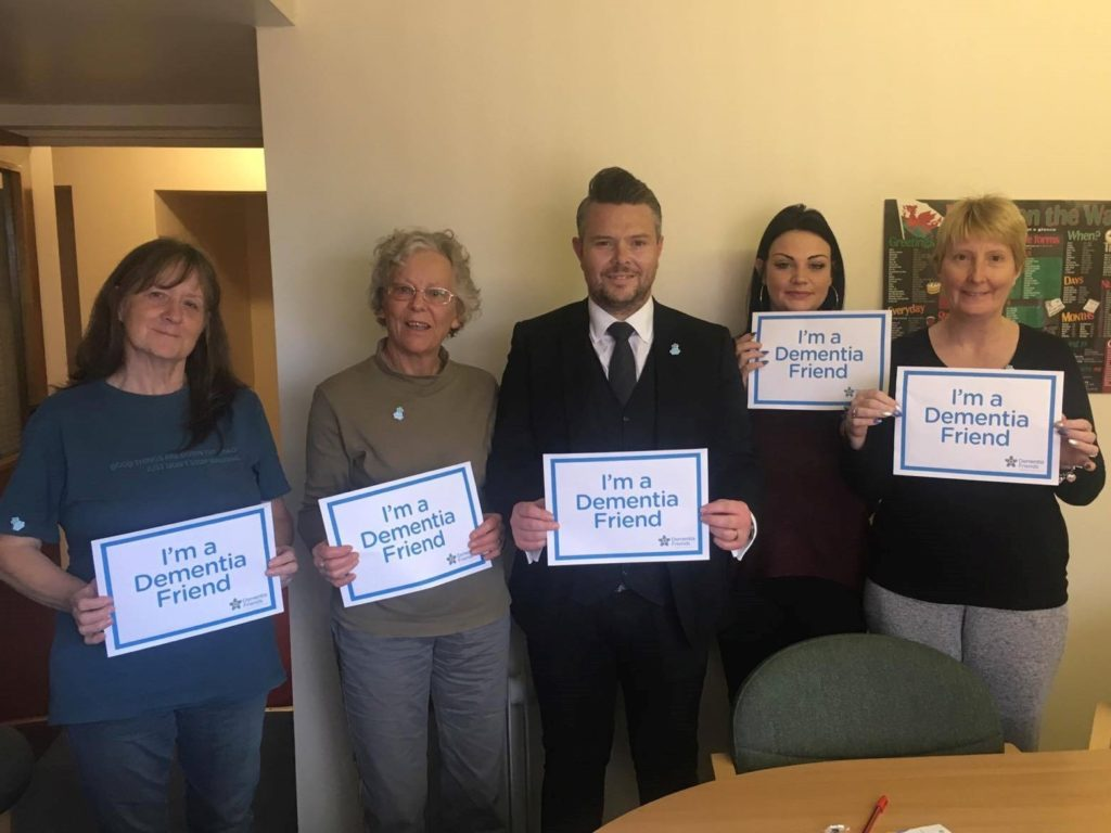 5 more Dementia Friends made today