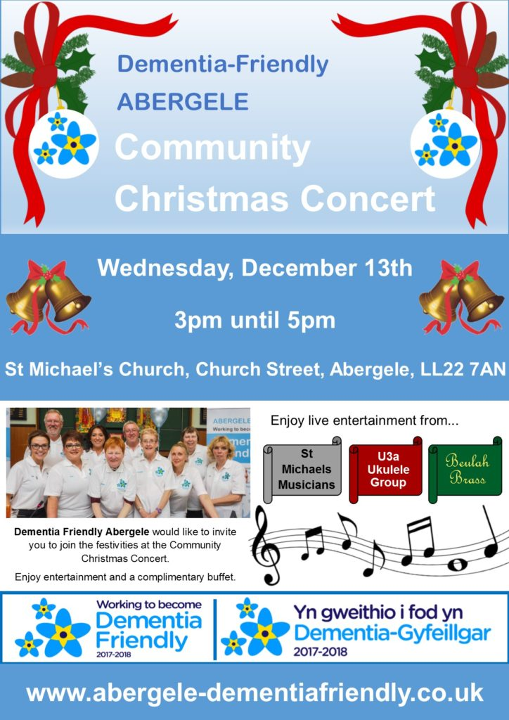 You're invited to our Christmas Concert!