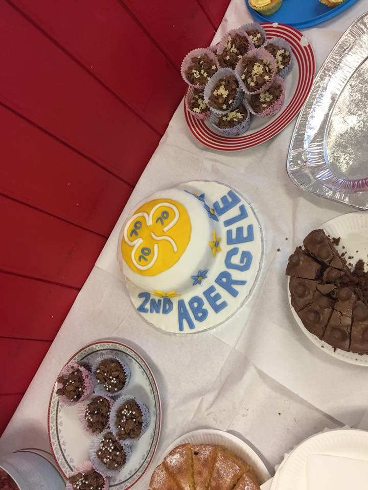 Abergele Brownies' 70th Birthday! All aspects of the event were Dementia Friendly too... great work girls!