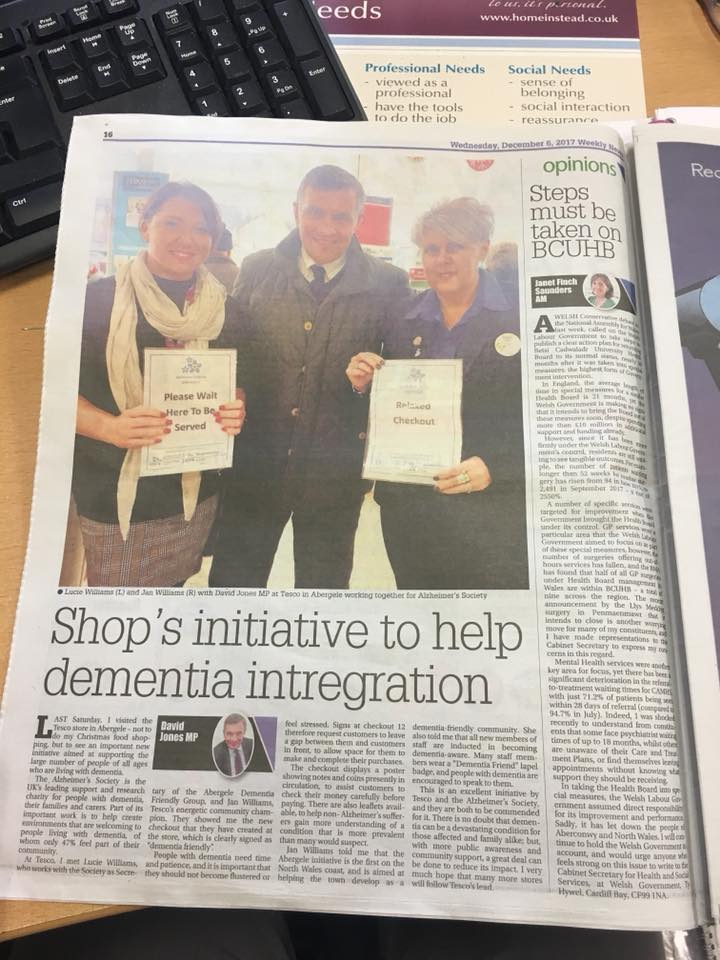 We're in the North Wales Weekly News!