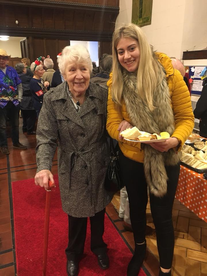 Home Instead caregivers enjoyed the day as much as their clients did