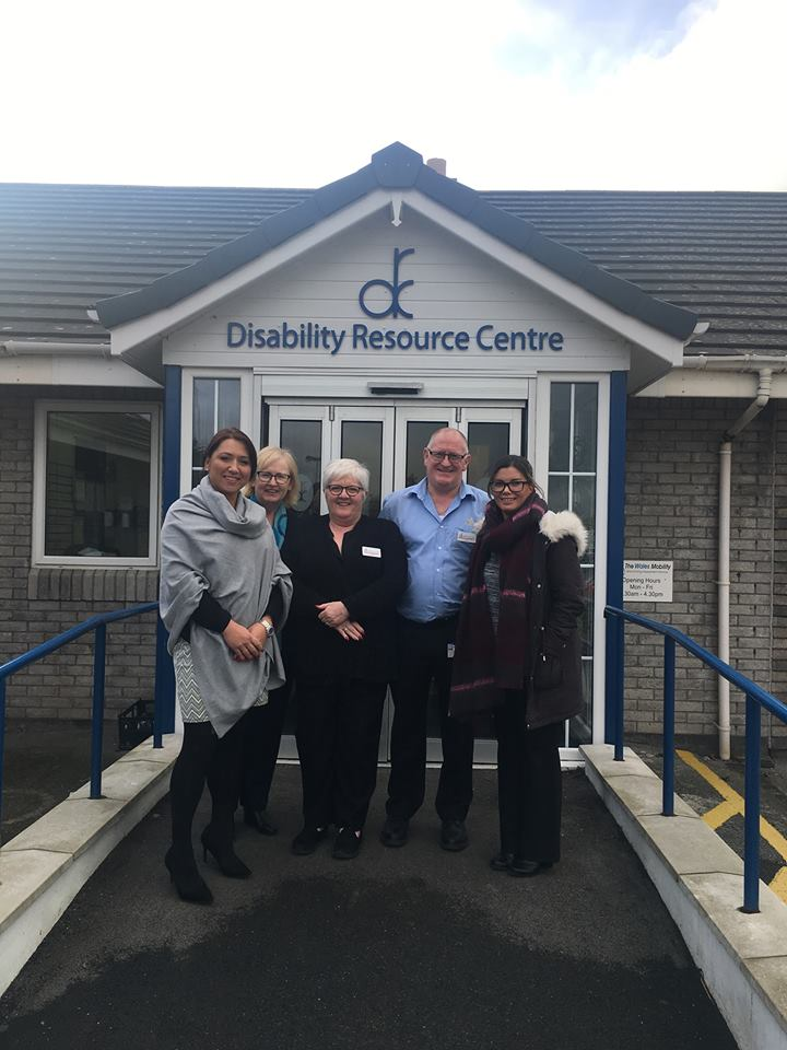 The Disability Resource Centre are now affiliated with the group!