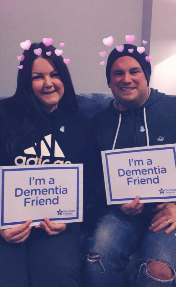 Another two Dementia Friends made- thanks Mel!