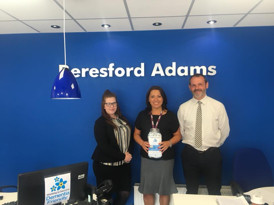 Beresford Adams are now selling our wristbands!