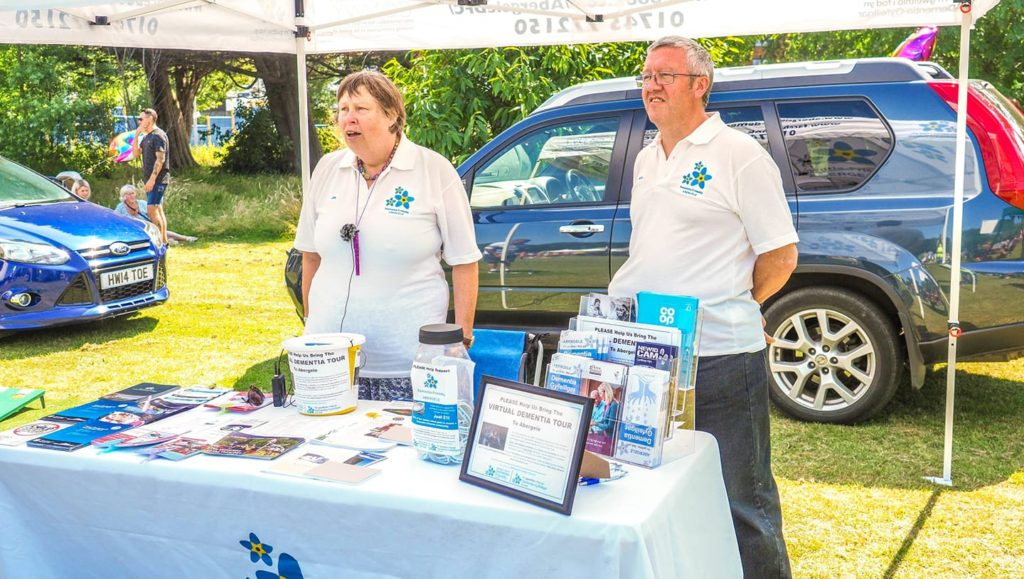 Jo and Alan at the Abergele Carnival